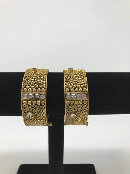 Antique Gold Indian Bangles