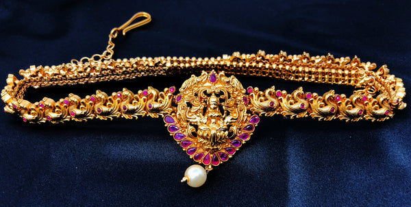 Temple Saree Waist Chain