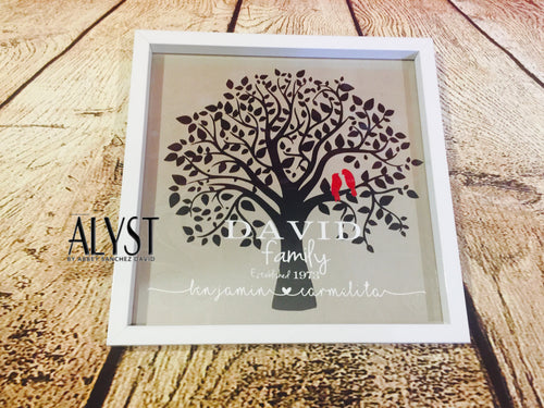 Anniversary Frame - tree versions