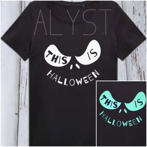 "Apparel- ""This is Halloween"" T-shirt"