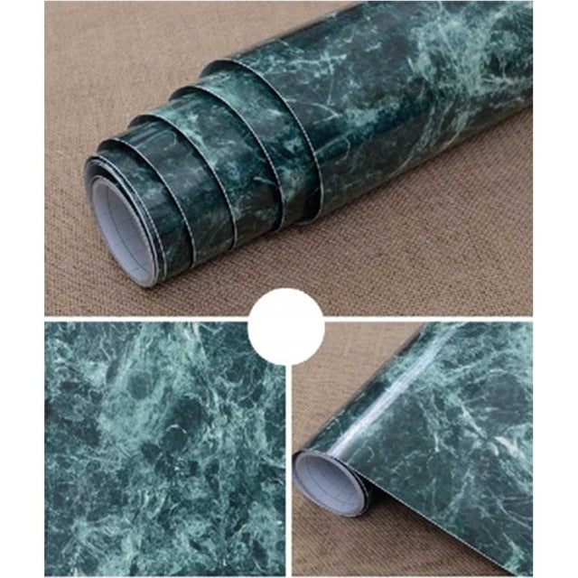 Details About 3m5m10m Marble Self Adhesive Wallpaper Peel Stick Removable