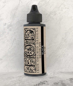 Decor Ink Black 2 oz - The Weathered Shed