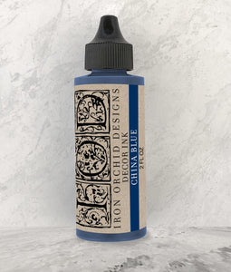 Decor Ink China Blue 2 oz - The Weathered Shed
