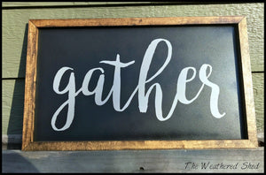 Gather - The Weathered Shed