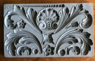 ACANTHUS SCROLL 6×10 DECOR MOULDS™ - The Weathered Shed