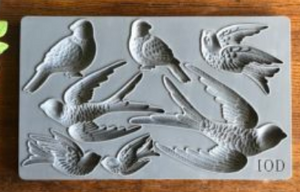 BIRDSONG 6×10 DECOR MOULDS™ - The Weathered Shed