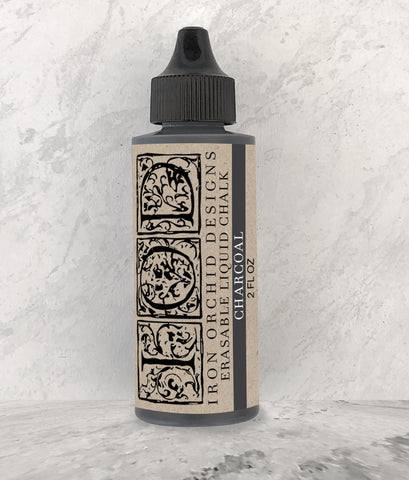 Erasable Liquid Chalk Charcoal 2oz