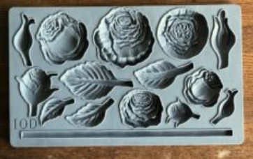 HEIRLOOM ROSES 6×10 DECOR MOULDS™ - The Weathered Shed