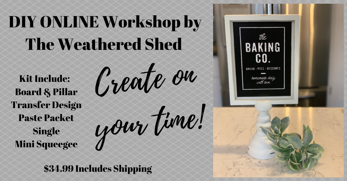 Virtual Workshop - The Baking Co.