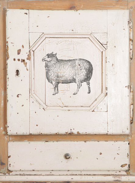 Farm Animals 12x12 Decor Stamp™ - The Weathered Shed