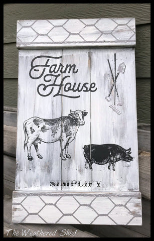 Farmhouse - The Weathered Shed