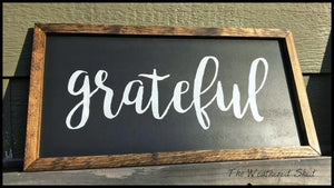 Grateful - The Weathered Shed