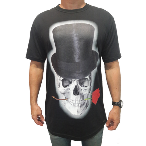 Camiseta Masculina Skull with Hat