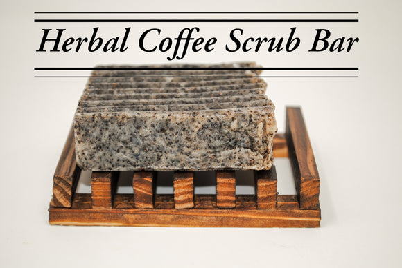 Herbal Coffee Scrub Bar