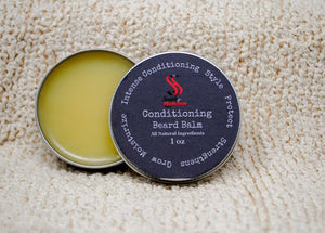 Beard Balm Leave In Conditioner With Jojoba & Argan Oil