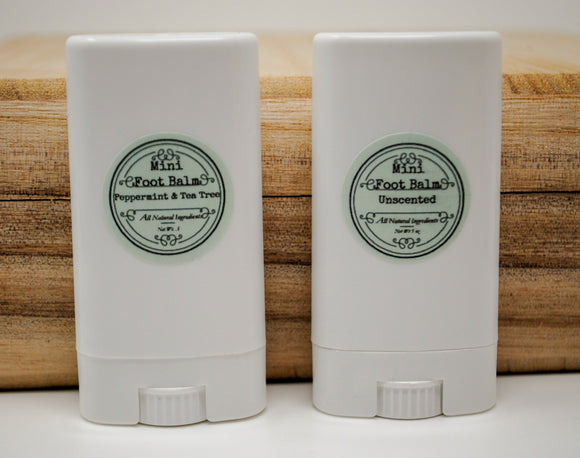 Peppermint & Tea Tree Mini Foot Balm