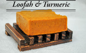 Soap & Wood Dish Set