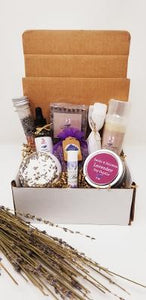 Lavender Essentials Gift Box For Her