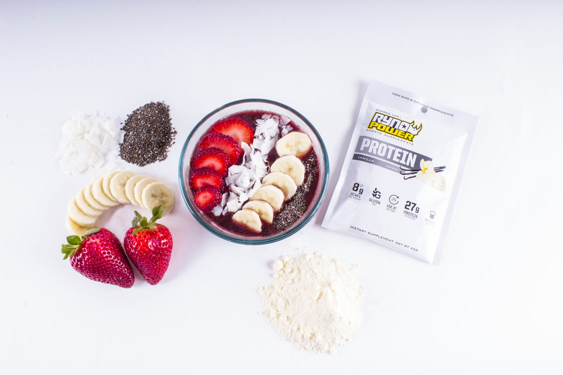 Ryno Power Protein Açaí Bowl