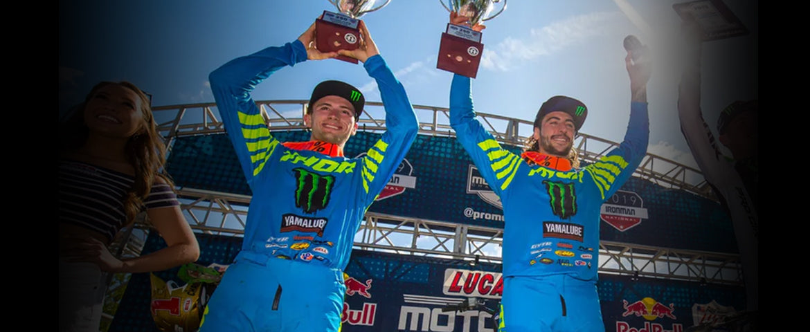 Justin Cooper, 3rd Overall in Lucas Oil Pro Motocross