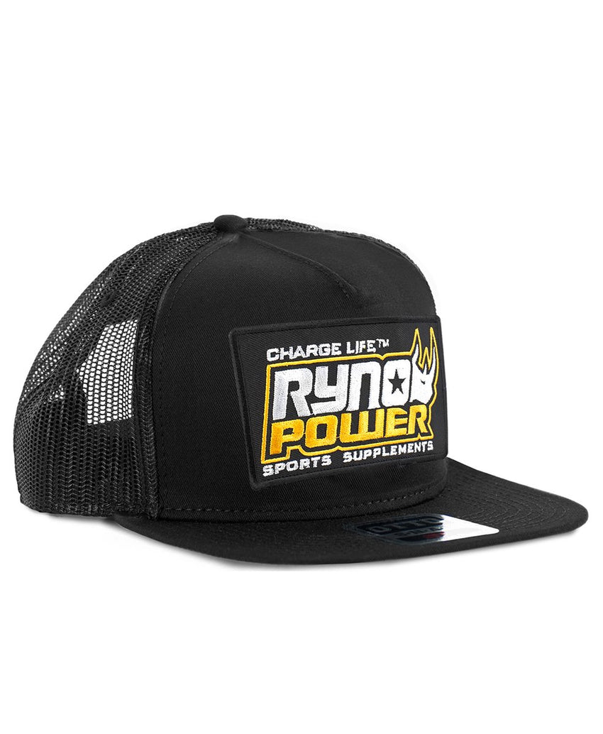 Charge Black Mesh Hat