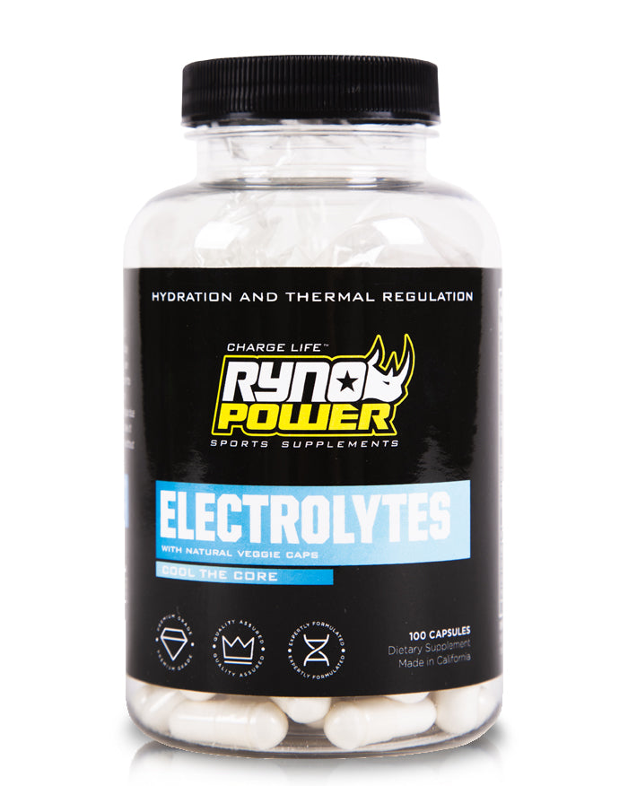 ELECTROLYTES Electrolyte Supplement | 50 Servings (100 Capsules)