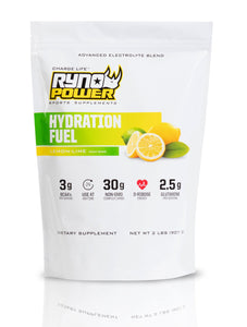 HYDRATION FUEL Lemon-Lime Electrolyte Drink Mix | 20 Servings (2 LBS)