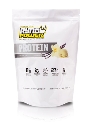 PROTEIN Premium Whey Vanilla Powder | 20 Servings (2 LBS)