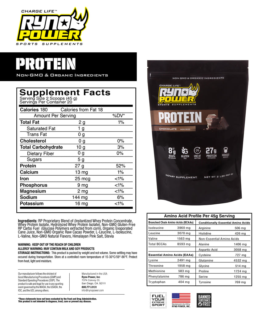 Chocolate Protein Single Serving