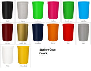 Stadium Cups 16 oz.