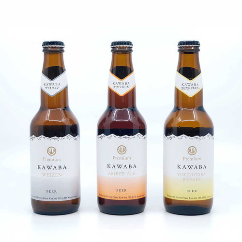 KAWABA PREMIUM BEER ASSORTED 330ml x 24