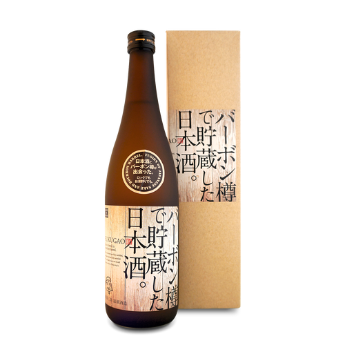 FUKUGAO SAKE STORED IN BOURBON BARREL 720ml