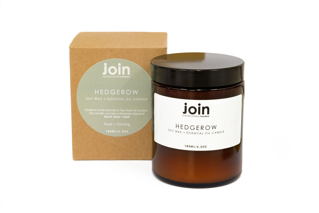 Hedgerow Soy Wax + Essential Oil Candle