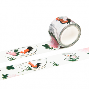 Rooster Bowl Washi Tape