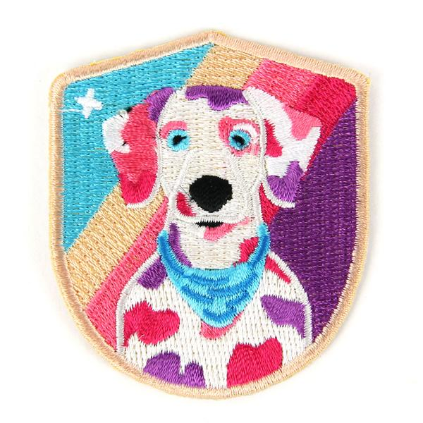 Dalmation Iron On Patch