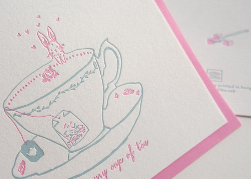 My Cup of Tea Love Card