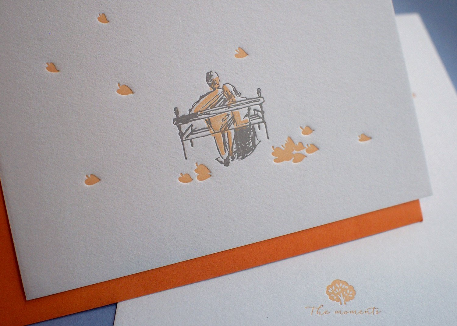 Falling Leaves Card