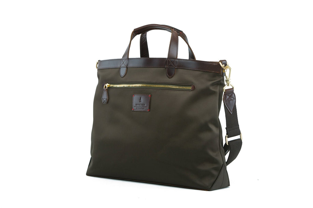 Strand Briefcase | Forest Green
