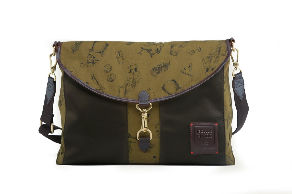 Kensington Messenger | Forest Green