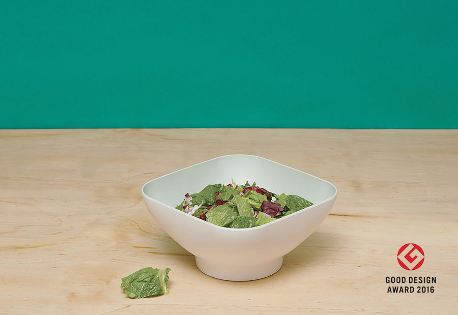 Diga Salad Bowl with Strainer - Suede