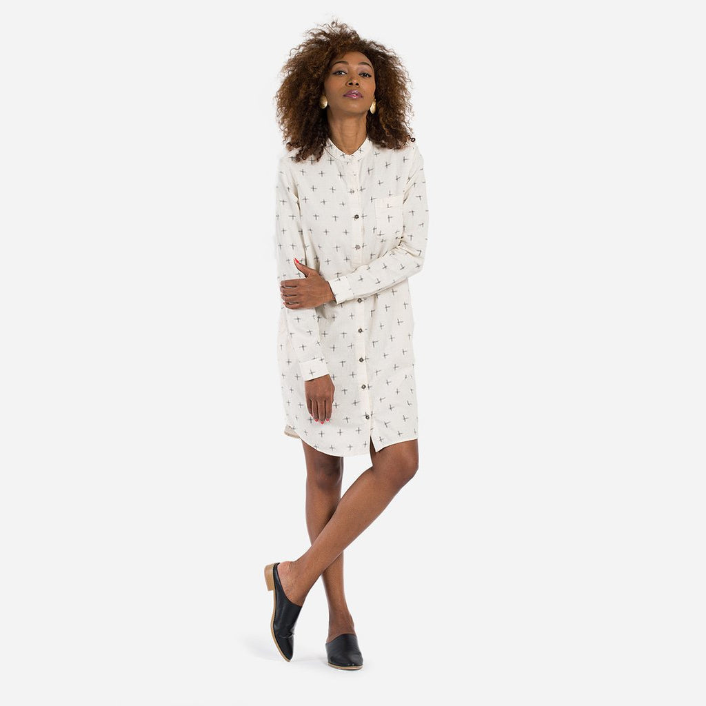 Simple Shirt Dress - All Eye Moon