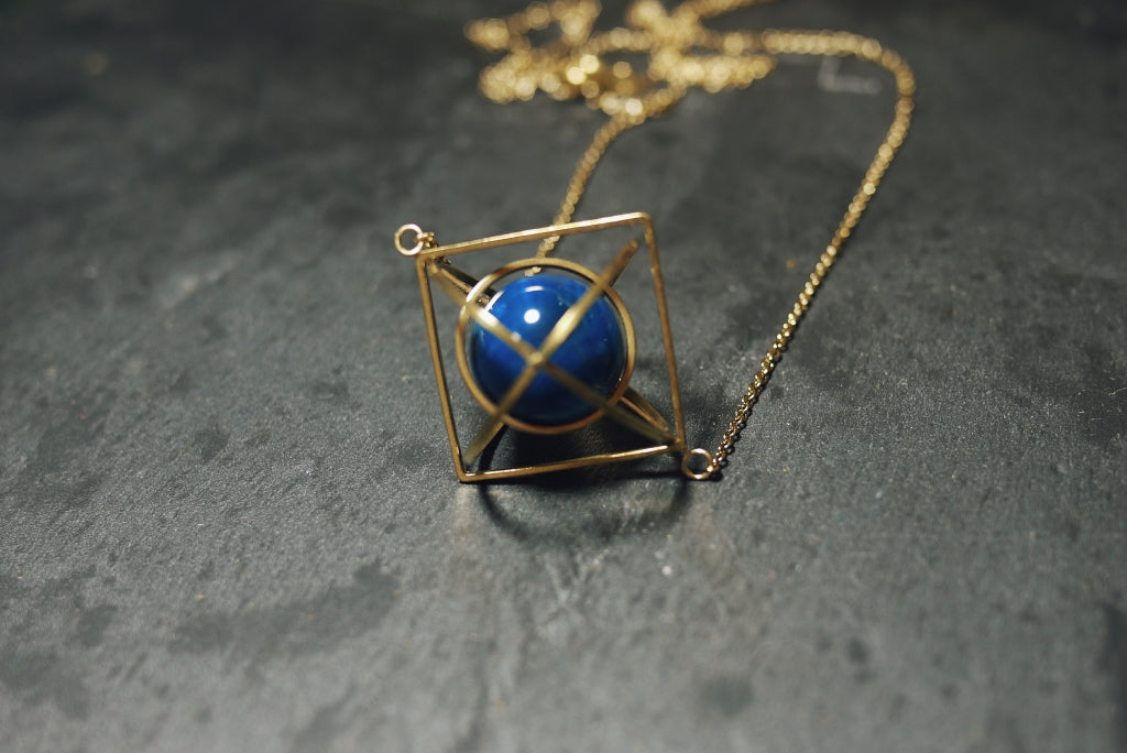 Triorbital Necklace