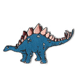Stegosaurus Iron On Patch