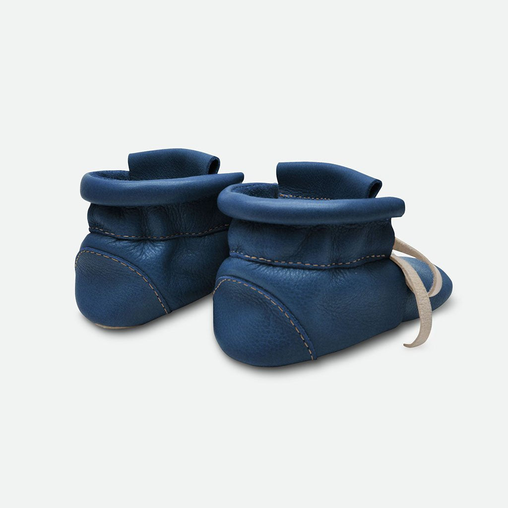 Baby Boots - Navy