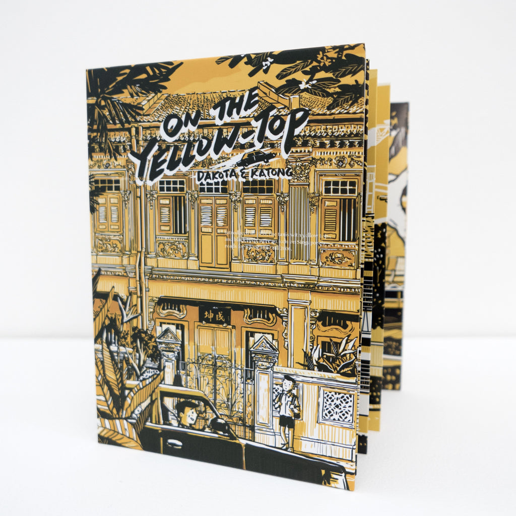 OIC - On The Yellow Top Sticker Book