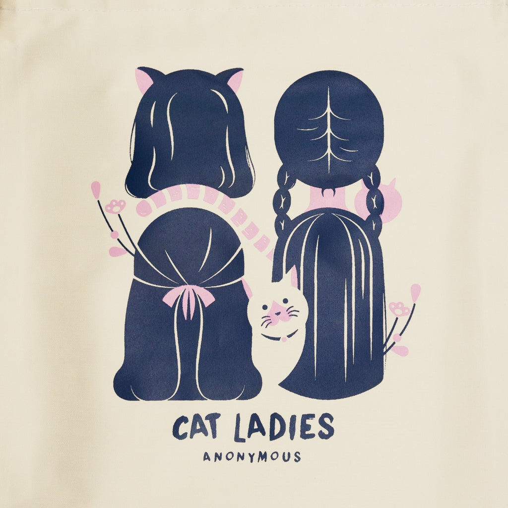 Cat Ladies Anonymous Totebag