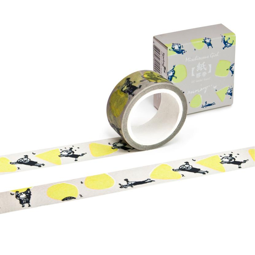 Underdo Party - Mischievous girl Washi Tape