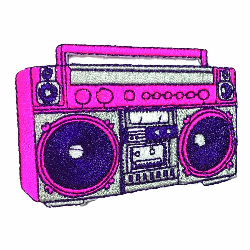 Juice x Pew Pew: Boom Box sticker patch