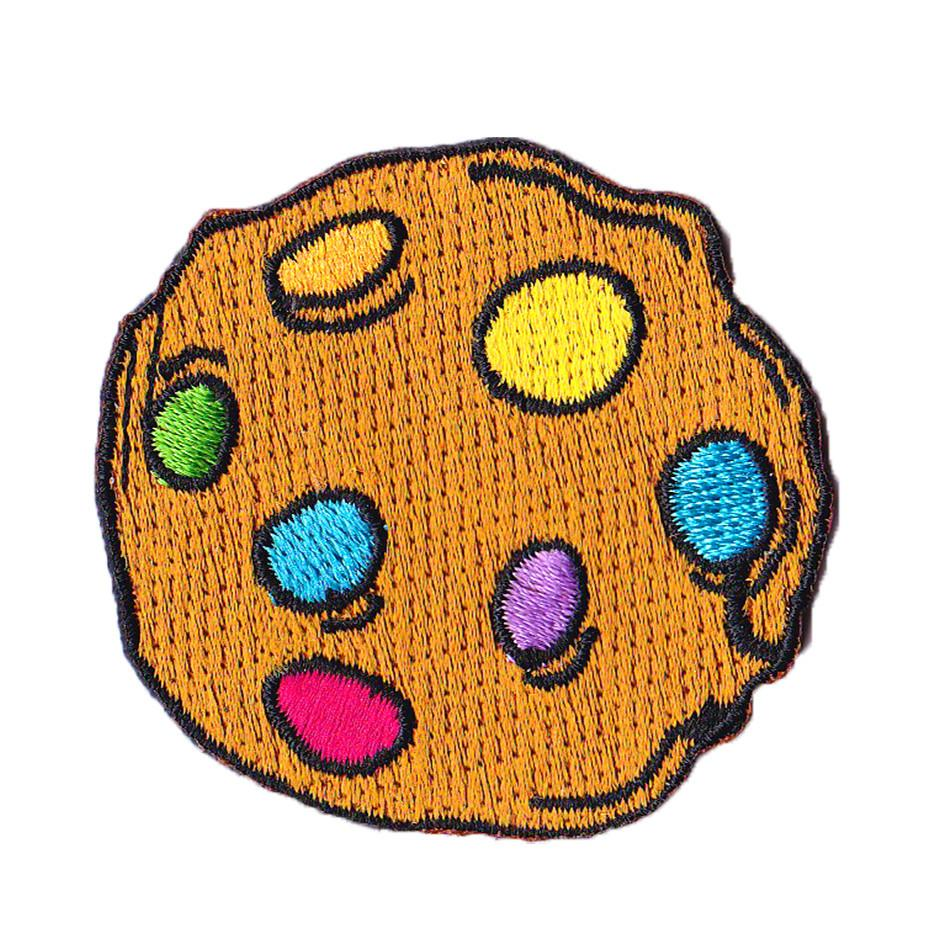 Rainbow Cookie Iron On Patch