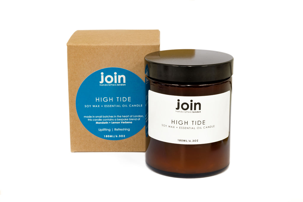 High Tide Soy Wax + Essential Oil Candle